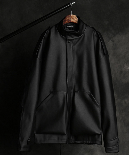 JK-15457leather short jacket