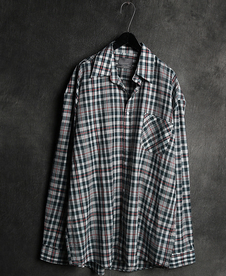 S-1938CHECK PATTERN LINEN SHIRT체크 패턴 린넨 셔츠Color : 3 colorMaterial : linen