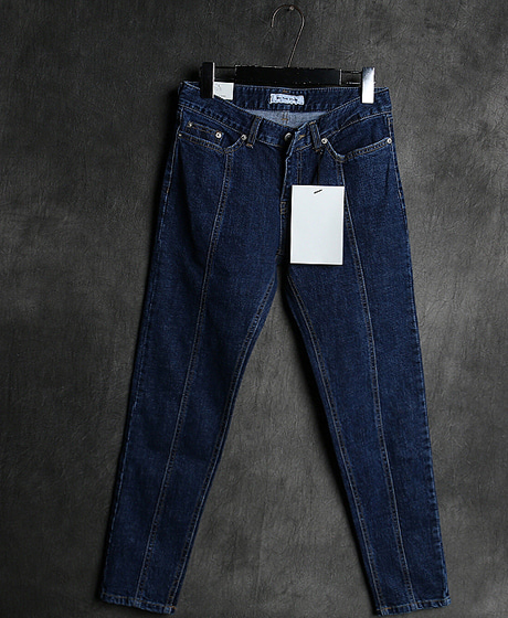 P-8177LINE DENIM PANTS라인 데님 팬츠Color : 1 colorMaterial : denim