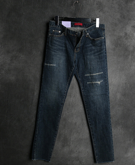 P-8360DAMAGED DENIM PANTS데미지 데님 팬츠Color : 1 colorMaterial : denim
