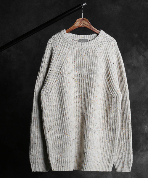T-16741lambswool color scheme knit